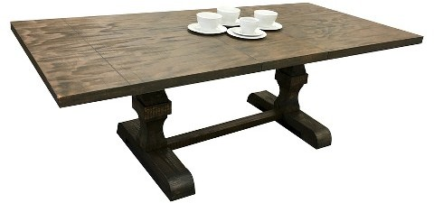 Acme ACME Landon Dining Table Wood/Salvage Brown