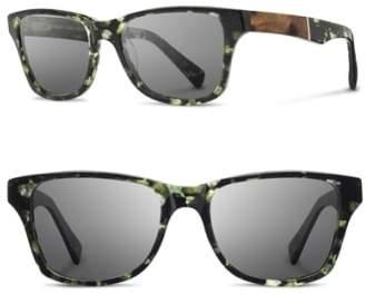 Shwood Polarized Wood Inlay Sunglasses