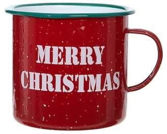 RAZ IMPORTS Red Merry Christmas Mug