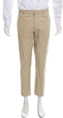 Maison Margiela Flat Front Straight-Leg Pants