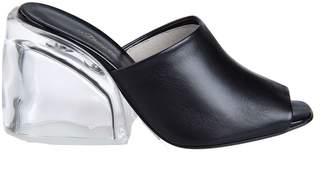 3.1 Phillip Lim Plexi Heel Mules