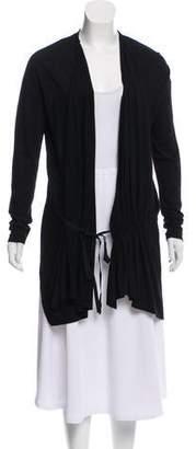 Pas De Calais Wool Knit Cardigan