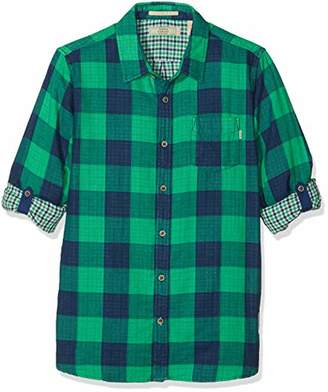 Scotch & Soda Shrunk Boy's Bonded Shirt Blouse,(Size: 14)