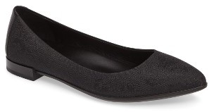 Women's Ecco Shape Pointy Ballerina Flat $149.95 thestylecure.com