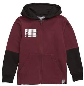 Puma Rebel Fleece Zip Hoodie