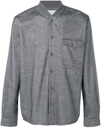 YMC band collar shirt