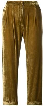 Mes Demoiselles corduroy cropped trousers