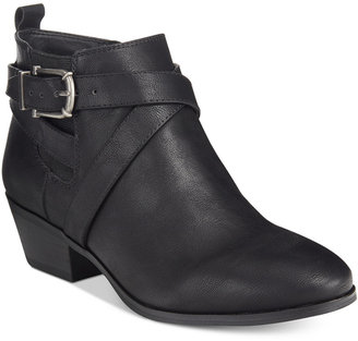 Style & Co Harperr Strappy Booties, Only at Macy's $79.50 thestylecure.com
