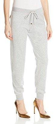 Juicy Couture Black Label Women's Bling Slim Velour Pant $84.91 thestylecure.com