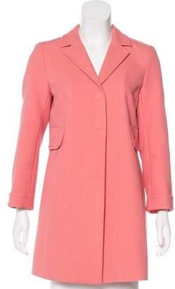 Marc Jacobs Notch-Lapel Short Coat