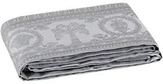 Versace I Heart Baroque Luxe Jacquard Flat Sheet