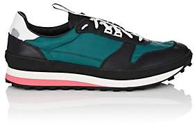 Givenchy Men's Runner Mixed-Material Sneakers - Green