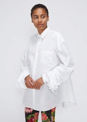 Junya Watanabe Scrunched Sleeve Shirt