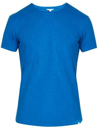 Orlebar Brown Ob T Cotton T Shirt - Mens - Blue