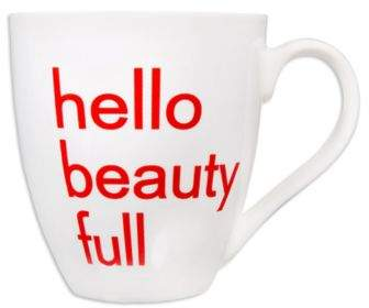 "Home Essentials & Beyond ""Hello Beauty Full"" Mug"
