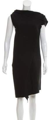 Roland Mouret Ruffled Knee-Length Dress