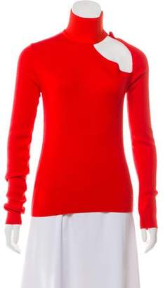 Dion Lee Wool Spiral Sleeve Skivvy Sweater