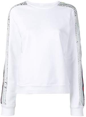 Iceberg sequin embroidered top