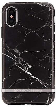 [RICHMOND&FINCH] BLACK MARBLE スマートフォンケース(iPhoneX、iPhoneXS対応)(IPX-064)