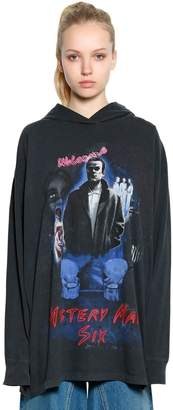 MM6 MAISON MARGIELA Mystery Man Cotton Jersey Sweatshirt