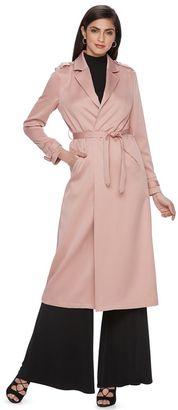 Women's Jennifer Lopez Trench Coat $125 thestylecure.com