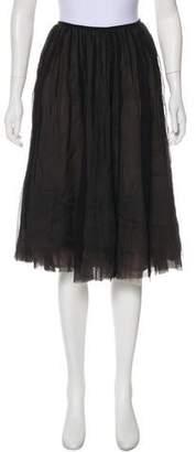 Martin Grant Silk Knee-Length Skirt