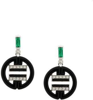 Chloé V Jewellery drop earrings