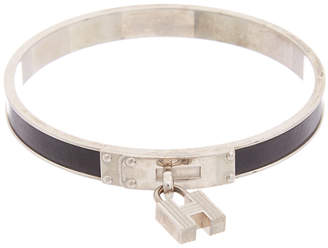 Hermes Palladium-Plated Kelly Bangle