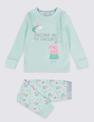 Marks and Spencer Peppa PigTM Pyjamas with Stretch (1-7 Years)
