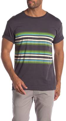 Lost Encore Colorblock Crew Neck Tee