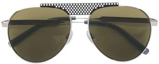 Oxydo tinted aviator sunglasses