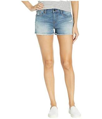 BCBGMAXAZRIA Denim Shorts in Destructed Vintage Wash