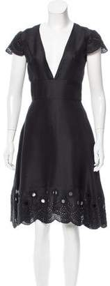 Prabal Gurung Embellished Knee-Length Dress