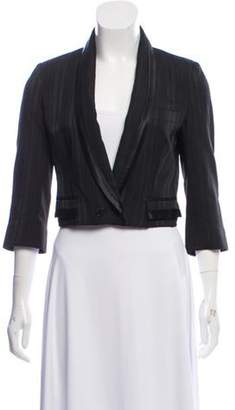 Dolce & Gabbana Structured Shawl Lapel Blazer Black Structured Shawl Lapel Blazer
