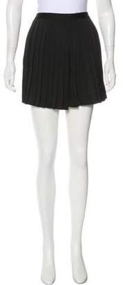 Rachel Antonoff Pleated Mini Skirt w/ Tags