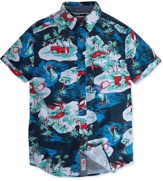 Levi's Big Boys Printed Cotton Shirt