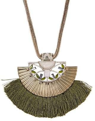 Jenny Packham Tassel Frontal Necklace