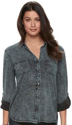 Rock & Republic Women's Cuffed Shirt