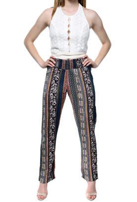 RD Style Printed Flowy Pants
