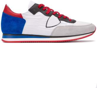 Philippe Model colour block sneakers