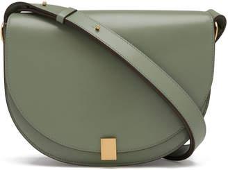 Victoria Beckham Sage Leather Half Moon Tote Bag