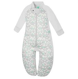 Ergo Pouch Ergopouch 2.5 Tog Sleep Suit Bag Grey Mountains
