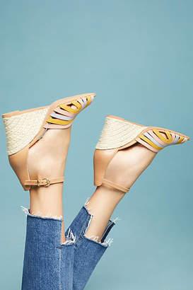 Seychelles Consciousness Peep Toe Wedge Sandals