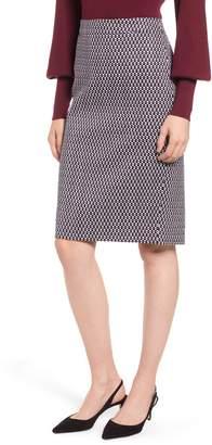 J.Crew Leslie Stretch Cotton Skirt