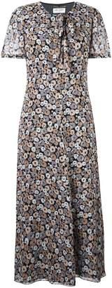 Saint Laurent floral print dress