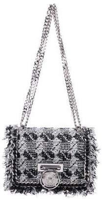 Balmain Metallic Tweed Baby Box Bag