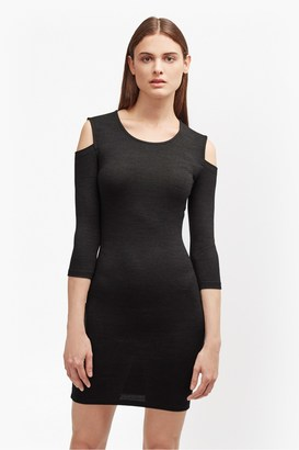 Sweeter Sweater Cold Shoulder Dress $98 thestylecure.com