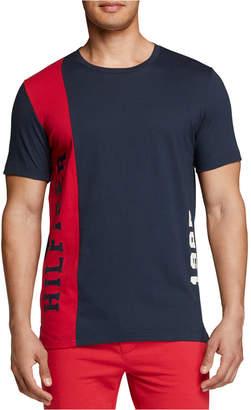 Th Modern Essentials Men Colorblocked Cotton T-Shirt