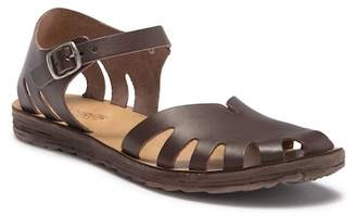 Khrio Ankle Strap Leather Sandal