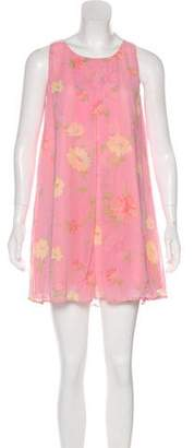 Max Mara Weekend Sleeveless Printed Mini Dress
